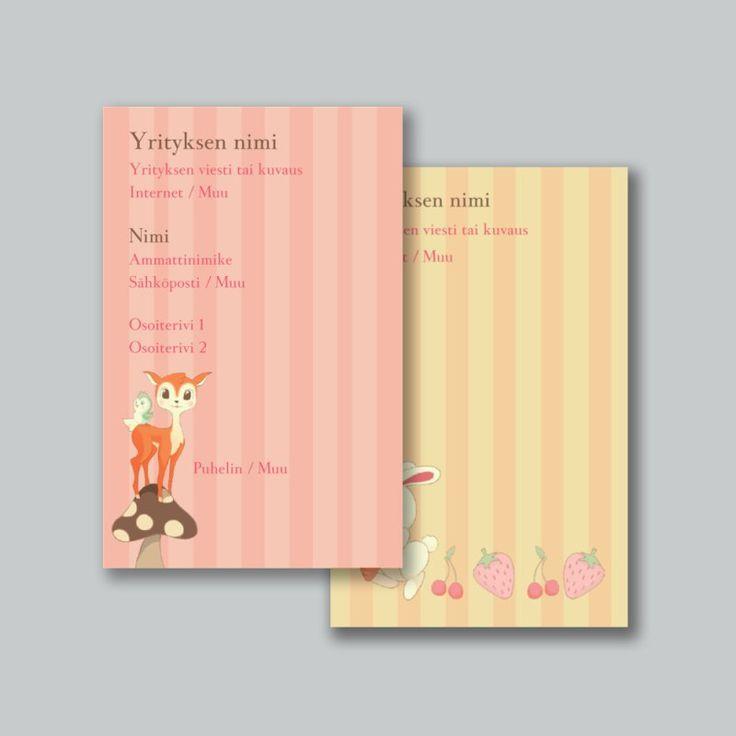 Tuotteen Standard-käyntikortit mallit avainsanalle: Bambi, Mallit Standard-käyntikortit-tuotteen avainsanalle: Bambi | Vistaprint