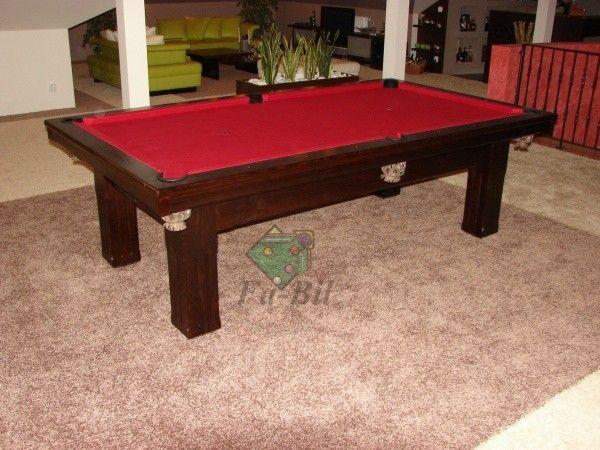 Zdjęcia stołu Ermelinda, stół bilardowy z litego drewna