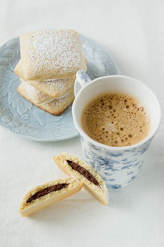 Nutella filled biscuits