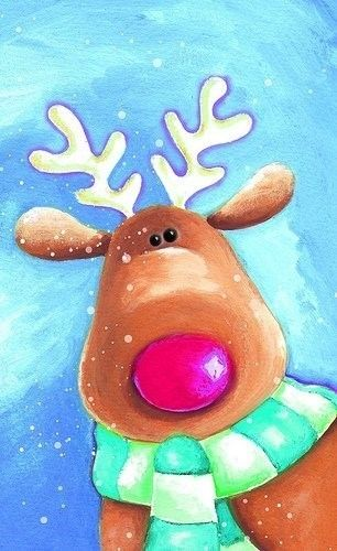 17 best images about christmas canvas ideas on pinterest for Easy christmas paintings on canvas