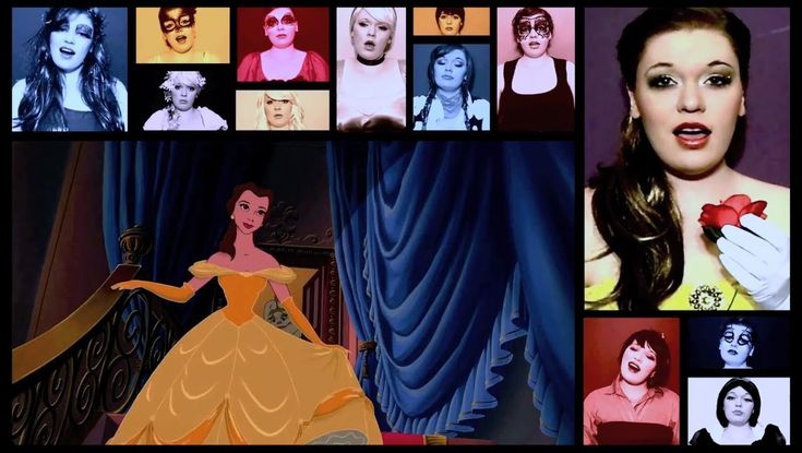 """One Woman A Cappella Disney Medley"" by @Heather Traska"