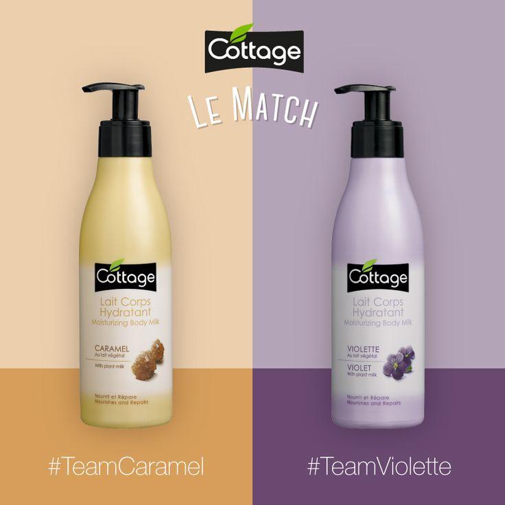 Etes-vous plutôt #TeamCaramel ou #TeamViolette ? Soutenez votre team dans les commentaires !