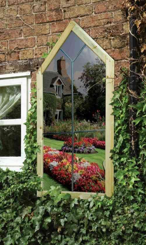 21 best miroir dans le jardin images on pinterest garden. Black Bedroom Furniture Sets. Home Design Ideas