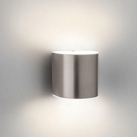Applique cylindrique - Lampe Parrot IP44 LED H13 cm - Aluminium 40