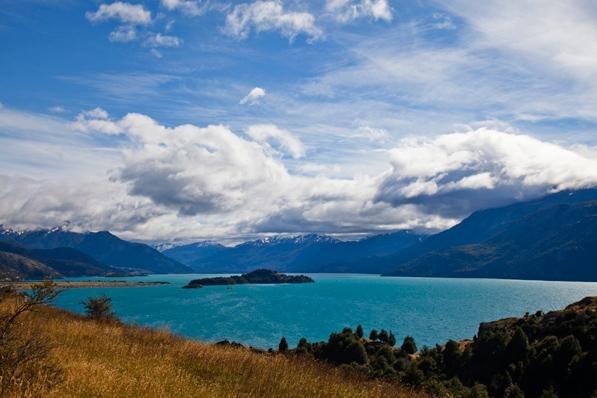 Lago General Carrera, north of Rio Baker, between Coyhaique and Cochrane. *Photographer:* Michael Hanson