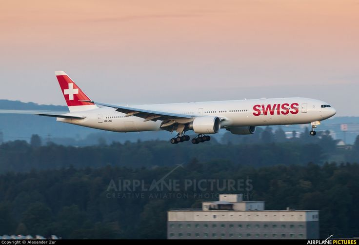 Swiss International Airlines Boeing 777-3DE/ER