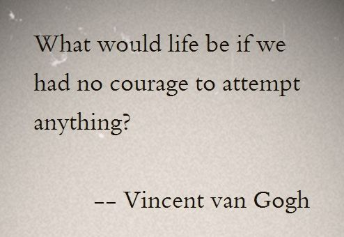 Vincent van Gogh Quote