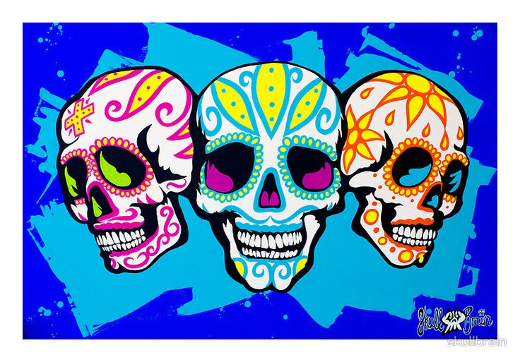 Mexi Skulls