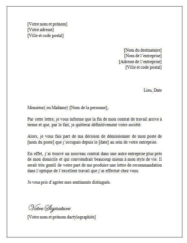 Lettre De Fin De Contrat Courrier De Resiliation Mutuelle Lusocarrelage Contrat Lettre A Fin De Contrat