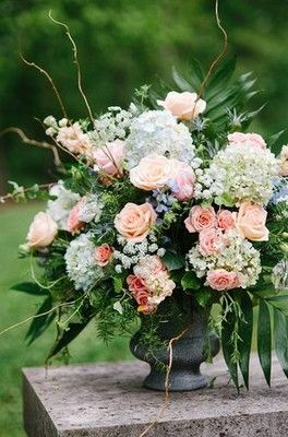 Show me your.... floral pedastals/urns? | Weddings, Style and Decor | Wedding Forums | WeddingWire