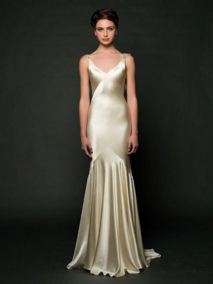 Daxa by Sarah Janks Art Deco Wedding Gown