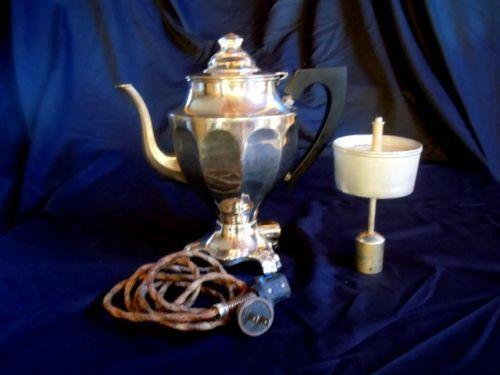 Undated Antique Hotpoint Coffee Percolator Edison