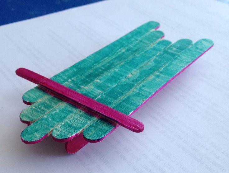 Popsicle Stick Crafts Pinterest