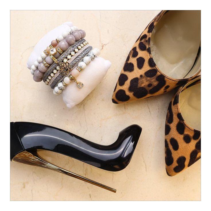 Cętki to gorący trend sezonu. Połącz go z wyjątkową biżuterią. #bydziubeka #jewellery #polishgirl #instadaily #beautiful #jewelry #bijoux #new #photo #polskadziewczyna #biżuteria #classy #chic #fabulous #style #stylish #bracelet #zestawy #heels #perfume