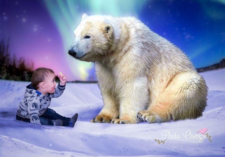 Polar Bear - Fairytale-shoot by Photo Osenga