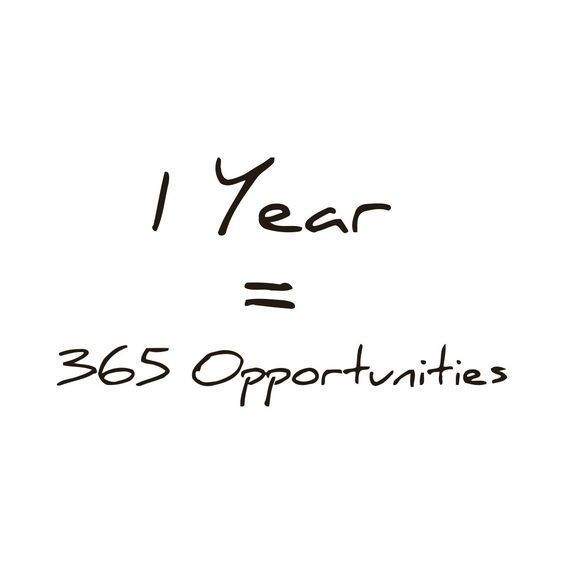 Everyday Is An Opportunity