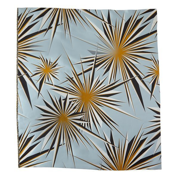 Golden Sunburst Silk Jacquard - ELLEDecor.com