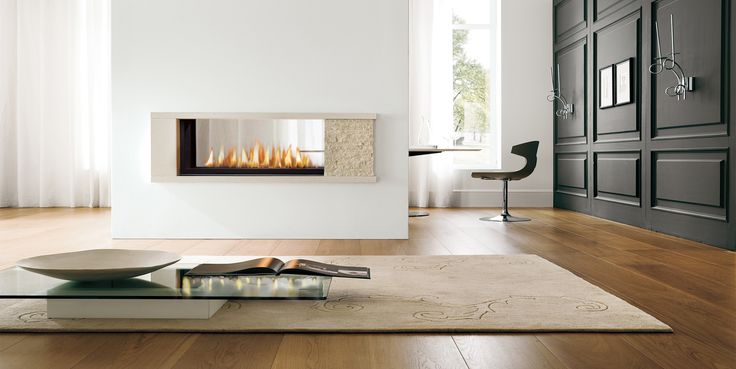 "Add a sleek stretch of dancing flames to any room with the Infinite. Completely contemporary and endlessly flexible, the Infinite is now available in 35"", 42"" and 60"" glass or a two-sided option - all available with Black, Pewter and Stainless Surrounds."