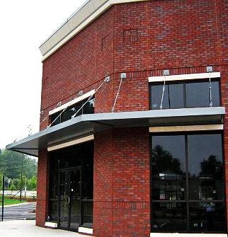 Architectural Awnings for commercial projects such as stores outlet malls businesses apartment complexes & 18 best Awnings images on Pinterest | Coffee store Store fronts ...