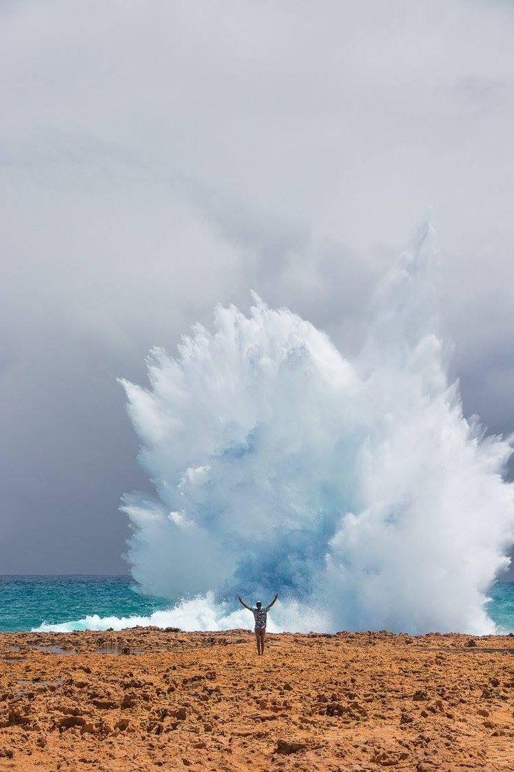 Blow Holes, Carnarvon, Western Australia   Summer of Seventyfive