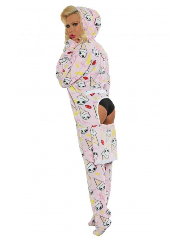 7ef2fe270 Image result for women s one-piece pajamas with drop seat