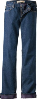 Cabela's flannel lined jeans ($32)