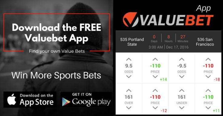 December 16 NCAAB Men's Basketball Valuebet App Sports betting tip: Portland State @ San Francisco