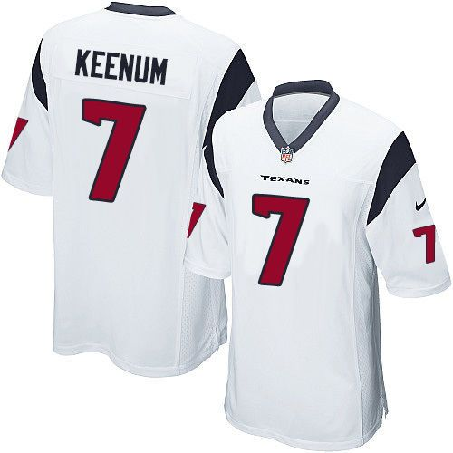 Case Keenum Jersey Elite NFL Houston Texans Nike Men's Football Super Bowl | eBay