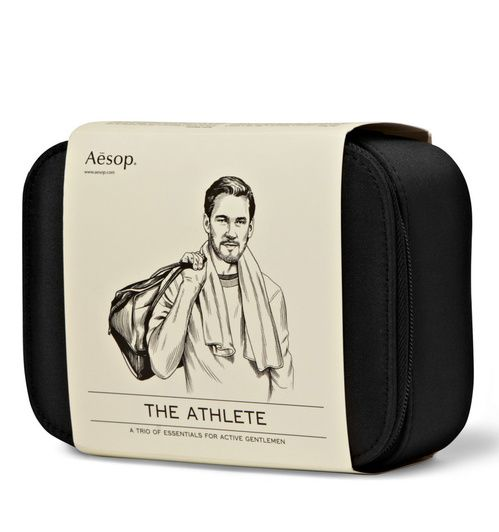 COSMÉTIQUE DOPANT  Athlete Grooming kit d'Aesop, 88 euros
