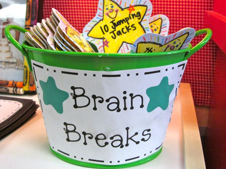 Brain Breaks- get those kids up and moving!