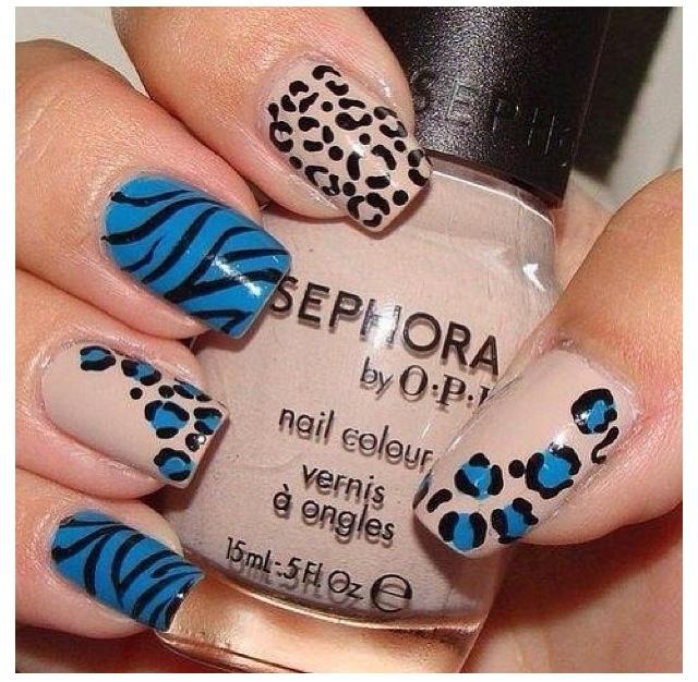 Mejores 15 imágenes de Nails en Pinterest | La uña, Uñas bonitas y ...