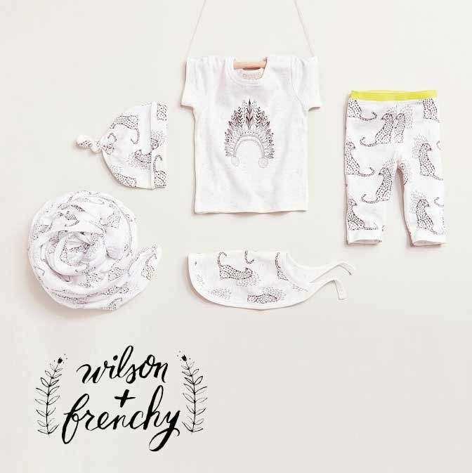 Beautiful gender neutral newborn baby clothes, available at Baby Dino.