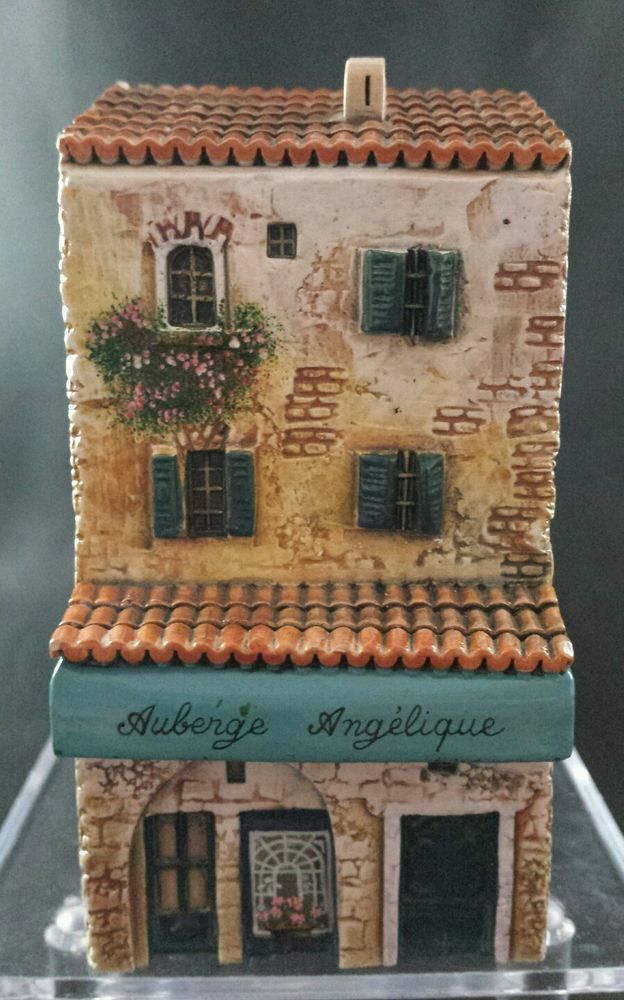Original french ceramic dominique gault miniature village house 3 story village houses - The tiny house village a miniature settlement ...