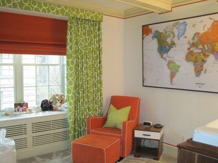 Window Treatments Above Radiators Make Curtains
