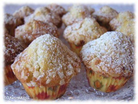 Kardemumma - yksi mielimausteistani - on ansainnut oman muffinssiohjeensa blogissa. Kokeilin näiden tekemisessä minimuffinssivuokaa, joka oli kyllä todella kätevä kapistus. Yksi tavallisen kokoinen muffinssi on mielestäni liian iso, kun kahvipöydässä on monenlaista tarjolla. Minusta on mukavaa, että vieraat jaksaisivat halutessaan maistaa kaikkia lajeja. Aiemmin olenkin puolittanut isoja muffinsseja, mutta paljon siistimpää on tehdä niistä valmiiksi […]