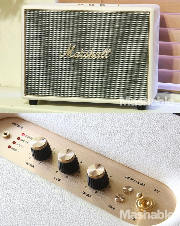 The Marshall Woburn Bluetooth speaker is one of the best Bluetooth speakers around.