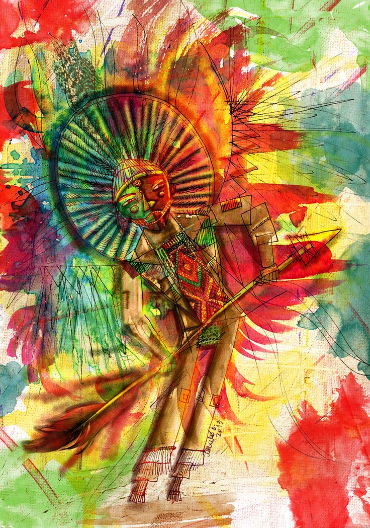 Study on indigenous Brazilian culture. Forgotten culture.