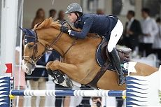 Paris 2014 Gallery - LONGINES GLOBAL CHAMPIONS TOUR - Ben Maher and Aristo #showjumping