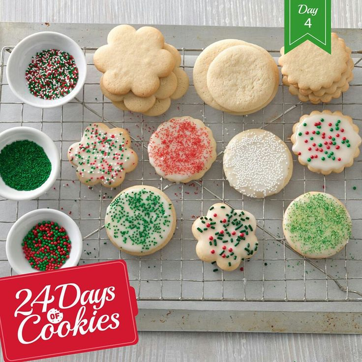24 Days of Christmas | CHRISTMAS COOKIES | Pinterest | Christmas