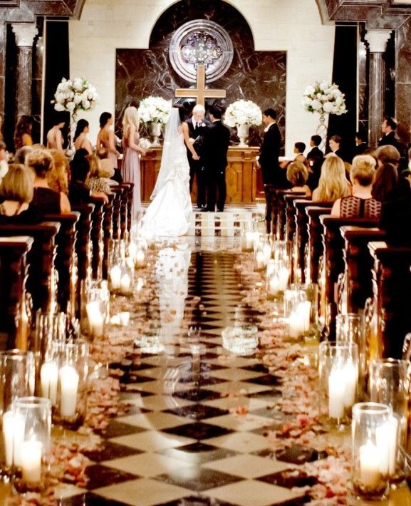 50 best decorating the church for the wedding images by susan stylish church wedding ceremony aisle candle decorations yes lesli junglespirit
