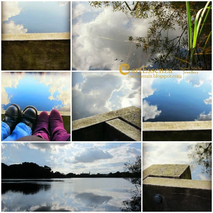 Ispirazioni Irlandesi/2: Il cielo nell'acqua - Lurgan Park ~ CartEssenza