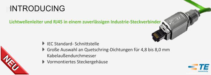 SHC GmbH - Lichtwellenleiter und RJ45 in einem zuverlässigen Industrie-Steckverbinder