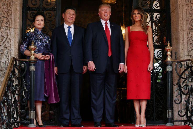 Melania Trump Peng Liyuan 3