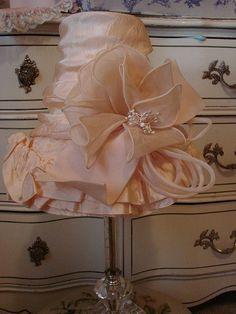 Beautiful, Shabby Chic lampshade~Love this~❥