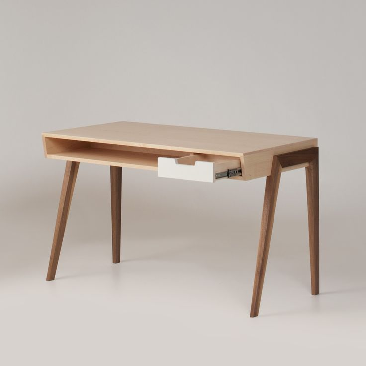 :: Wedgwood Maple & Walnut Desk | Schoolhouse Electric & Supply Co.