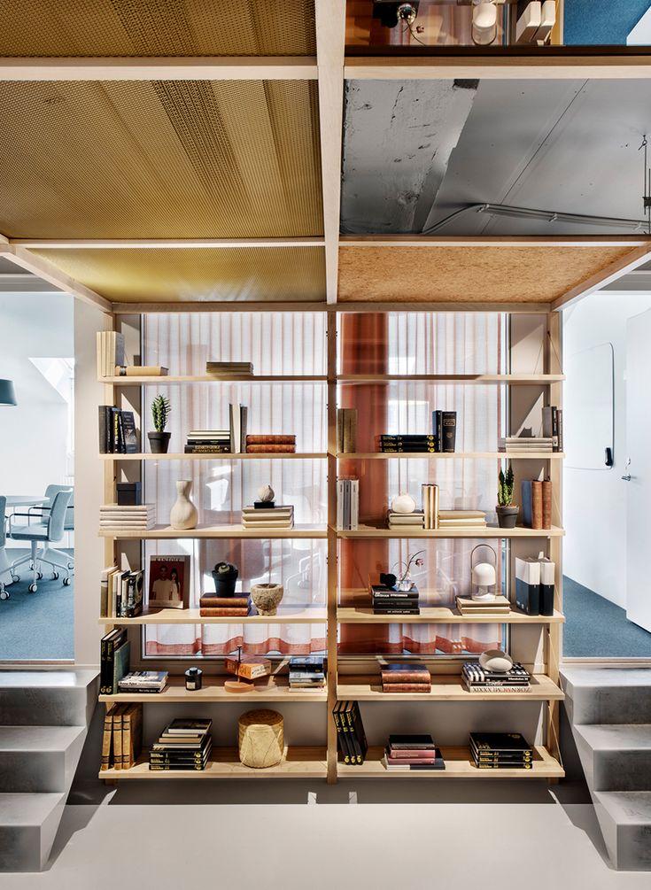 Bornstein lyckefors creates office free of hierarchical design office freearchitecture interiorsofficesspaceinterior