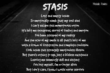 """""""Stasis"""" #Creative #Art in #poetry @Touchtalent http://bit.ly/Touchtalent-p"""