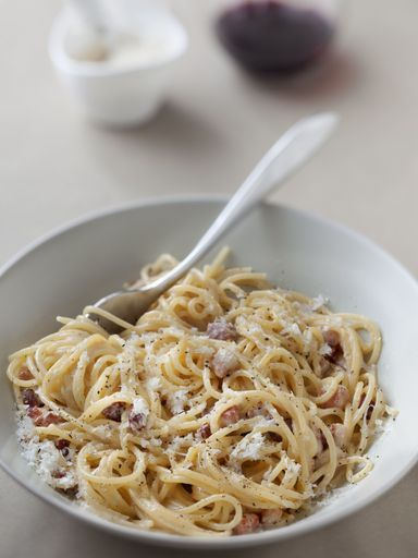 La véritable recette de la Carbonara : Recette de La véritable recette de la Carbonara - Marmiton