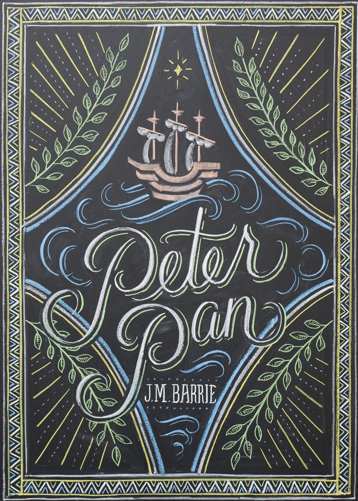 Typographic Book Cover Art : Best images about j m barrie book covers on