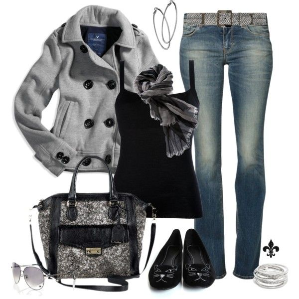 """Shades of Black"" by hatsgaloore on Polyvore: Hatsgaloor, Peas Coats, Jackets, Outfit Polyvore, Random Pin, Black Love, Polyvore Fashion, Clothing Shoes Accesories, Shades Of Black"